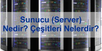 sunucu server nedir